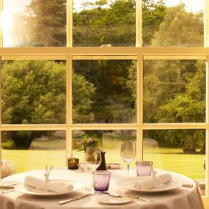 Chewton Glen dining table