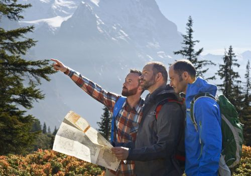 Gay hiking trip in Switzerland and Italy