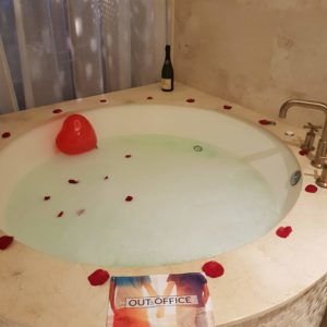 Romantic bath at Secrets Akumal