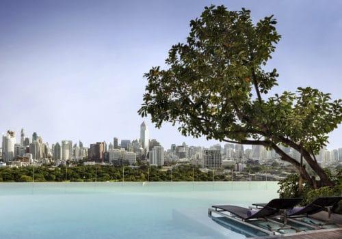 SO Sofitel Bangkok infinity pool