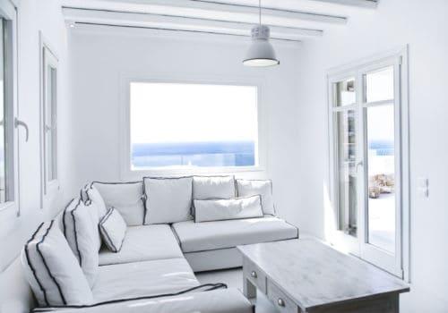 Villa Alice living room