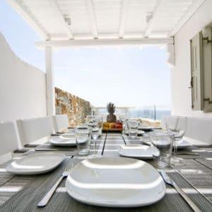 Villa Alice dining area