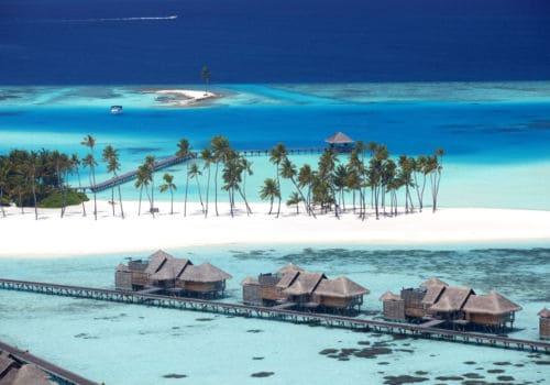 Aerial Gili Lankanfushi
