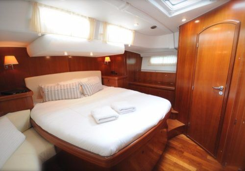 Cabin on yacht