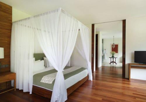 Alila Ubud – Accommodation – Terrace Tree Villa Bedroom