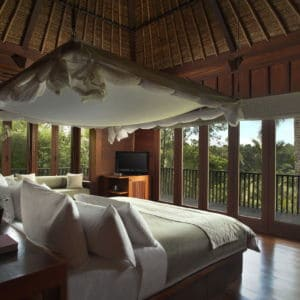 Alila Ubud – Accommodation – Valley Villa Bedroom