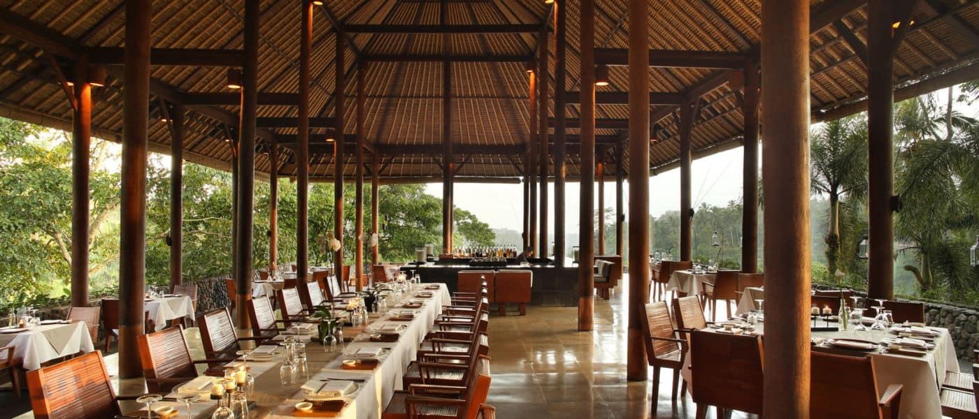 Alila Ubud – Dining – Plantation