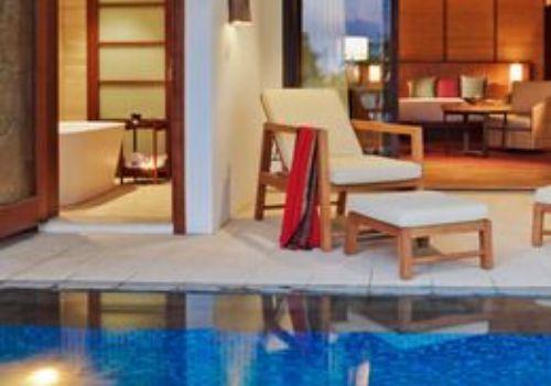 Angsana Balaclava pool suite