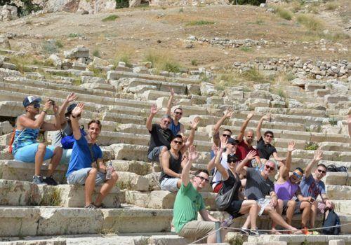 Greece gay group trip