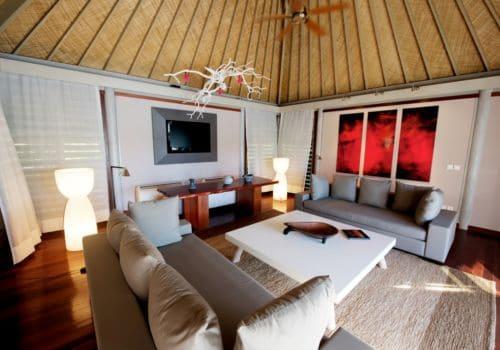 Hotel Le Meridien Bora Bora beach villa