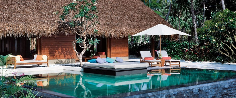 One & Only Reethi Rah Maldives  beach villa
