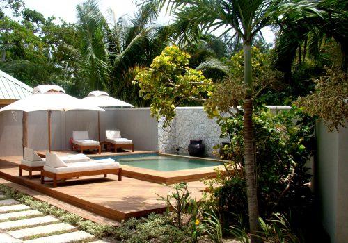 Denis Private Island Beach Villa Plunge Pool