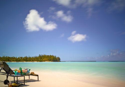 The Brando French Polynesia beach