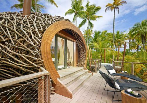 The Brando French Polynesia terrace