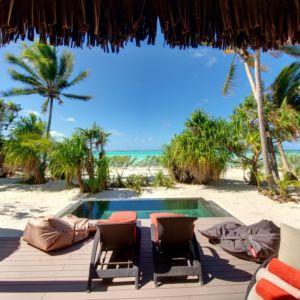The Brando French Polynesia pool
