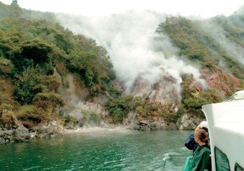 Lake Rotomahana Rotorua Waimangu Volcanic Valley