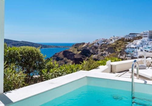 Canaves Oia Suites private pool