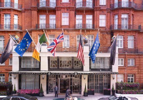 Claridges hotel front