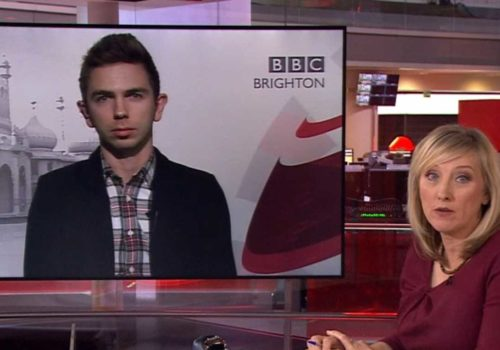 Darren Burn from OutOfOffice on BBC News speaking about Brunei homophobic laws
