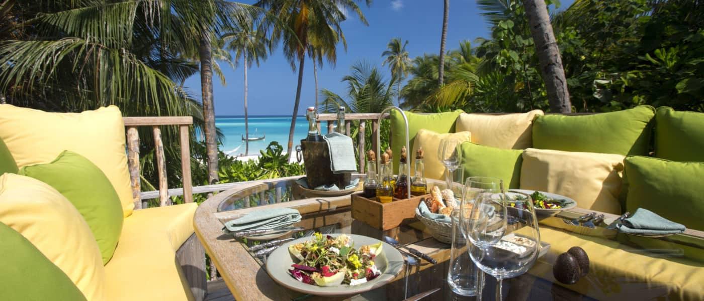 Destination dining Gili Lankanfushi Maldives