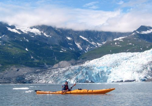 Antarctica gay group trip Glacier Kayaking