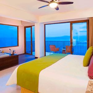 Gay Puerto Vallarta hotel – Grand Almar Jacuzzi and Terrace