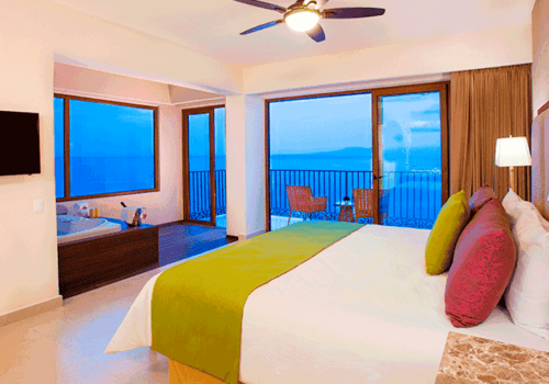 Gay Puerto Vallarta hotel – Grand Almar Jacuzzi and Terrace