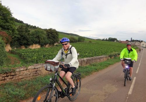 Gay cycling in Burgundy