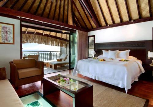 Hilton Moorea Lagoon Resort And Spa overwater bungalow