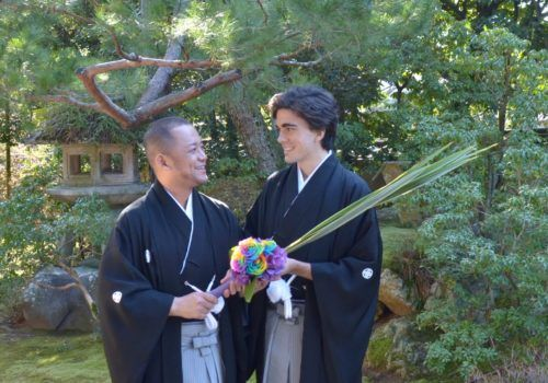 Gay wedding in Japan