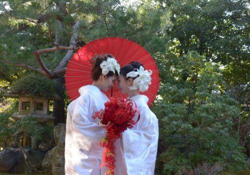 Lesbian wedding in Japan
