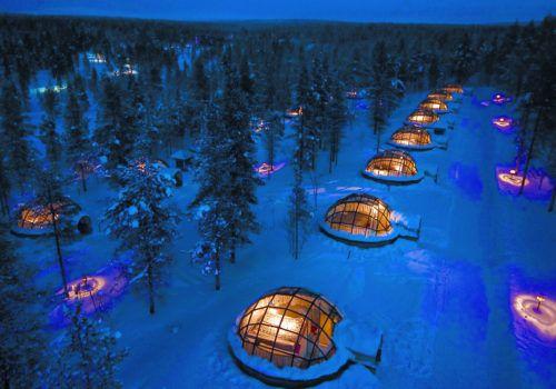 Kakslauttanen Arctic Resort – Lapland Igloo Hotel