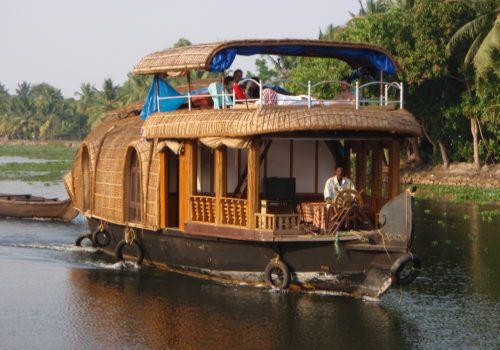 India river boat