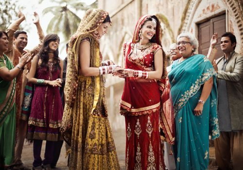 India lesbian wedding by Braden Summers