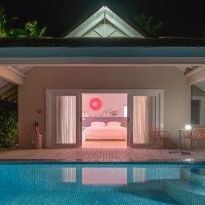 Lagoon Beach Villa Exterior_002_The Standard_Huruvalhi Maldives