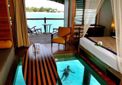 Hotel Le Meridien Bora Bora Premium overwater bungalow