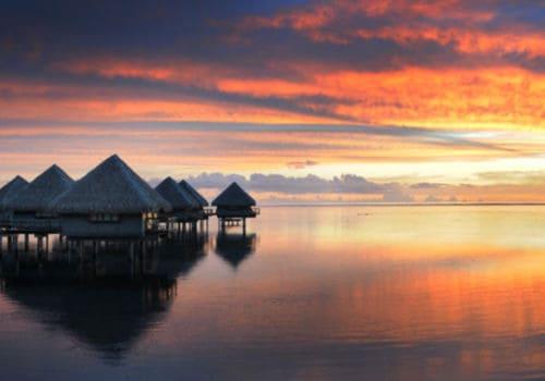 Hotel Le Meridien Bora Bora water villa
