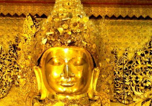 Mandalay Mahamuni Pagoda Myanmar