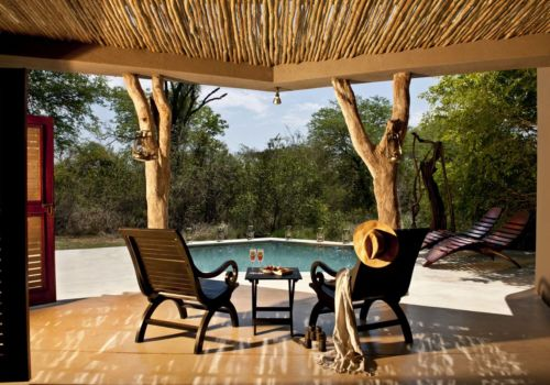 Private pool at Mandleve Suite Sabi Sabi