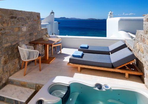 Premium Sea View Jacuzzi Room
