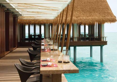 Maldives Reethi Restaurant