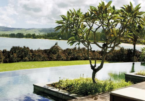 Shanti Maurice pool