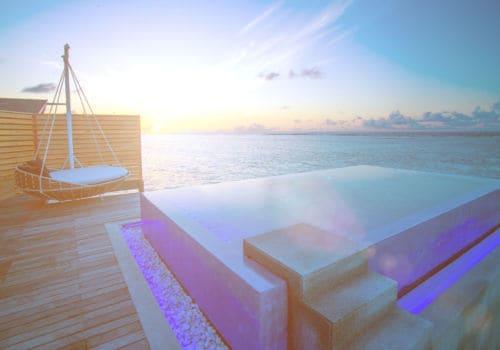 Lux South Ari Atoll pool