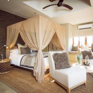 Bedroom at Sabi Sabi Game Reserve South Africa