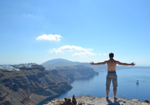 Santorini gay holiday