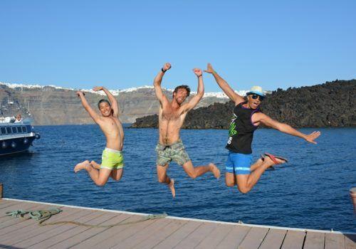 Santorini gay trip
