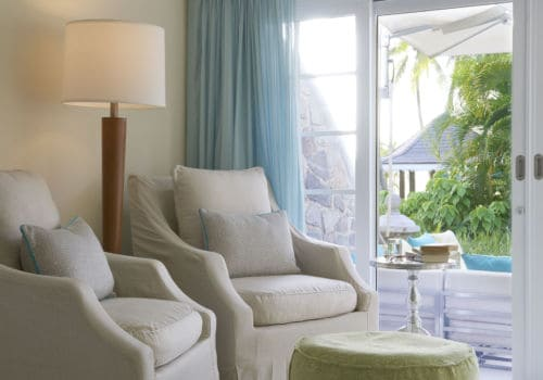 Seaside Suite seating area