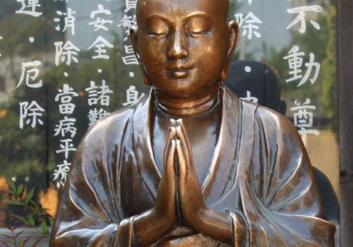 Buddha statue in Tokyo