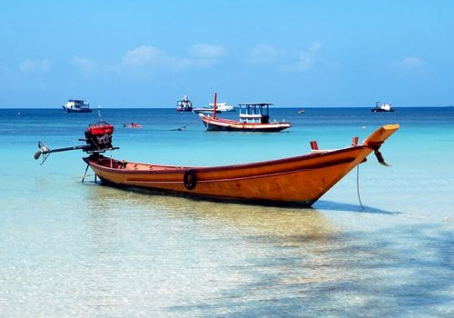 Koh Tao taxi boat
