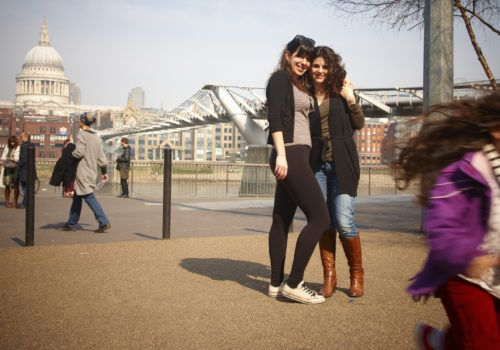 lesbian couple London